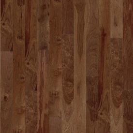 Паркетна дошка BOEN Plank односмугова Горіх американський Animoso 2200х138х14 мм лак матовий