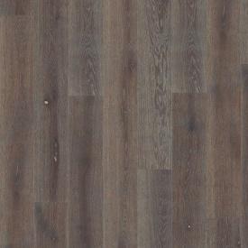 Паркетная доска BOEN Stonewashed Plank однополосная Дуб Графит брашированная 2200х138х14 мм масло
