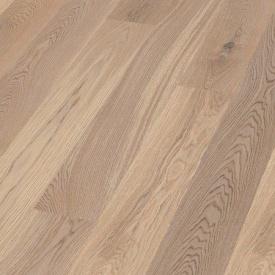 Паркетна дошка BOEN Plank односмугова Дуб Animoso браширована 2200х138х14 мм вибілена масло