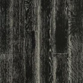 Паркетная доска DeGross Дуб черный с белым браш лак 500х100х15 мм