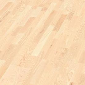 Паркетная доска BOEN Longstrip Ясень с белыми вкраплениями Andante 14x209x2200 мм лак матовый