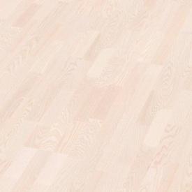 Паркетная доска BOEN Longstrip Ясень полар белый 14x209x2200 мм лак матовый