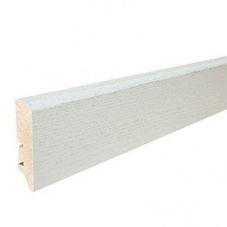 Плінтус дерев'яний Barlinek P50 Дуб Рearl 60х16х2200 мм