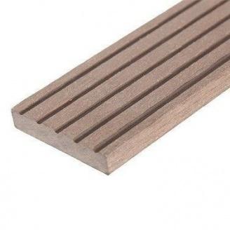 Плинтус для террасной доски Woodplast Legro Ultra 50x10х2900 мм