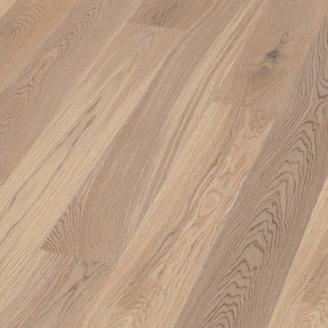 Паркетная доска BOEN Plank однополосная Дуб Animoso небрашированная 2200х181х14 мм отбеленная масло