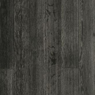 Паркетная доска DeGross Дуб черный с серебром браш 1200х120х15 мм