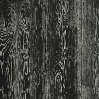 Паркетная доска DeGross Дуб черный с белым браш масло 500х100х15 мм
