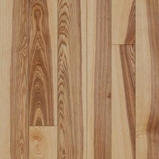 Паркетна дошка DeGross Ясен браш натур строкатий 500х100х15 мм