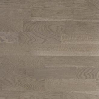 Паркетная доска Esta Parket Дуб Dusky Grey Brush 3-х полосная 14x204x2200 мм