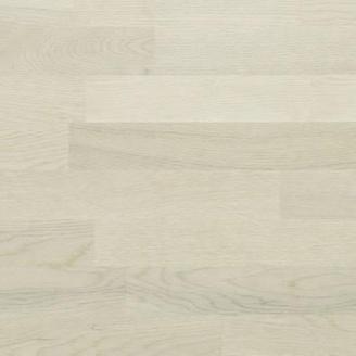 Паркетна дошка BEFAG трьохполосна Дуб Robust 2200x192x14 мм перлинно-білий лак