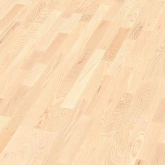 Паркетна дошка BOEN Longstrip Ясен з білими вкрапленнями Andante 14x209x2200 мм лак матовий