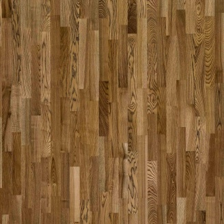 Паркетна дошка трьохсмугова Focus Floor Ясен BAYAMO легкий браш коричневе масло 2266х188х14 мм