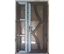 Двери входные металлопластиковые штульповые 1230х2040 мм