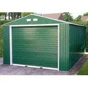 Будівництво гаража стандартного з ролетними воротами 7х4 мм