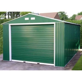 Строительство гаража стандартного с роллетными воротами 7х4 мм