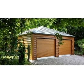 Строительство улучшенного гаража двойного 8х8 м