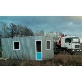 Будівництво побутового приміщення для персоналу 6х2,5 м