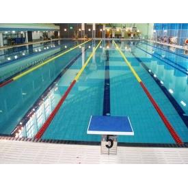 Плитка для бассейнов Interbau Blink Бассейн в спорткомплексе