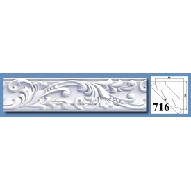 Багет потолочный Optima Decor 716 HQ 53x53 2 м