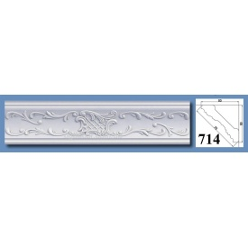 Багет потолочный Optima Decor 714 HQ 53x53 2 м