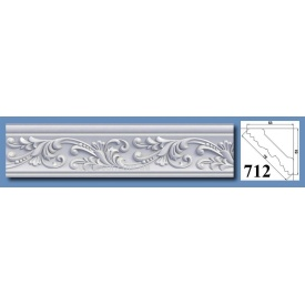 Багет потолочный Optima Decor 712 HQ 53x53 2 м