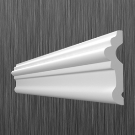 Профиль настенный молдинг Киндекор U-50 58 мм