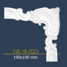 Декоративний куточок Марбет NE 18-02 19x19 см