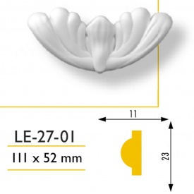 Декор вставка Marbet LE 27-01 11x5.2 к Е -27