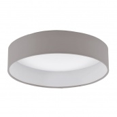 Світильник стельовий EGLO PALOMARO 12W LED сіро-коричневий (93949)