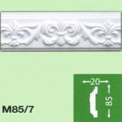 Стіновий плінтус Baraka Decor М85/7 85x20 2 м