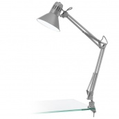 Светильник настольный EGLO FIRMO 40W E27 серый (90874)