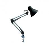 Світильник світлодіодний настільний Horoz Electric Rana Е27 чорний (049-013-0060)