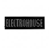 Світлодіодний бейдж ElectroHouse Білий (EH-BL-003)