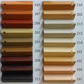 Угол пластиковый ПВХ текстура под дерево Mak Польща 2,7 м 40x40 103