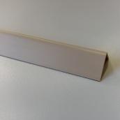 Кути оздоблювальні пластикові однотонні Теко 2.75 м 10x20 Бежевий