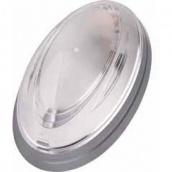 Світильник настінний TEB Electrik NINOVA срібло Е27 (400-011-107)