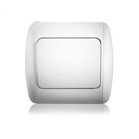 Выключатель одноклавишный ERSTE CLASSIC 9201-01 белый