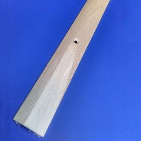 Порог профиль алюминиевый Элит АП 004 30 мм гладкий