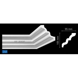 Профиль потолочный багет NMC SM/LX-141 105x95