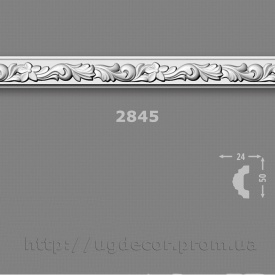 Профиль потолочный багет Добра Справа 2845