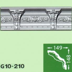 Багет потолочный Baraka Decor Grand G10-210 148x149