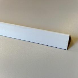 Кути оздоблювальні пластикові однотонні Теко 2.75 м 15x15 Білий