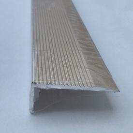 Угловой алюминиевый профиль Деко профиль №11 анодированный