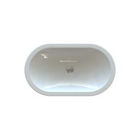 Стільниця індивідуальна у ванну кімнату суцільнолита з чашею Олімпія 540х300х115 мм