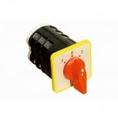 Перемикач кулачковий ПКП ElectrO 3 полюса 16А 1-0-2 3 полюса 380В аварійний (PKP16102A)