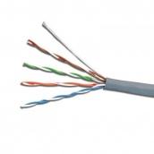Кабель UTP 4х2х0,51 CCA ПВХ серый ElectroHouse (EH.LAN-21)