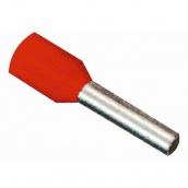 Наконечник трубчатый ElectrO НГ 1,0 - 8 мм красный (NG0108R)