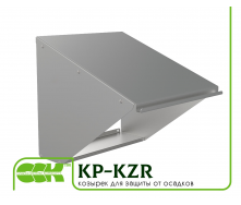 Козырек для защиты вентилятора от осадков KP-KZR-42-42