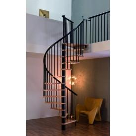 Винтовая лестница MINKA SPIRAL Effect 140 см черный