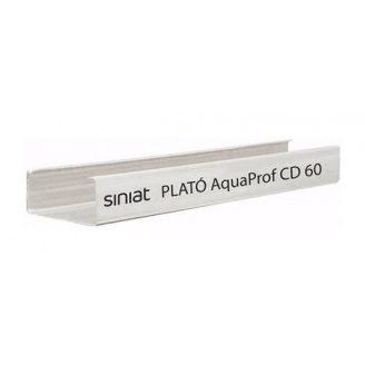 Профиль металлический полимерный PLATO AquaProf CD 60x0,50x3000 мм